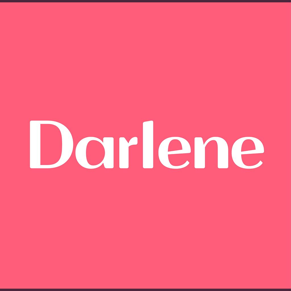 Thumbnail zu der von zumegon gestalteten Schrift Darlene