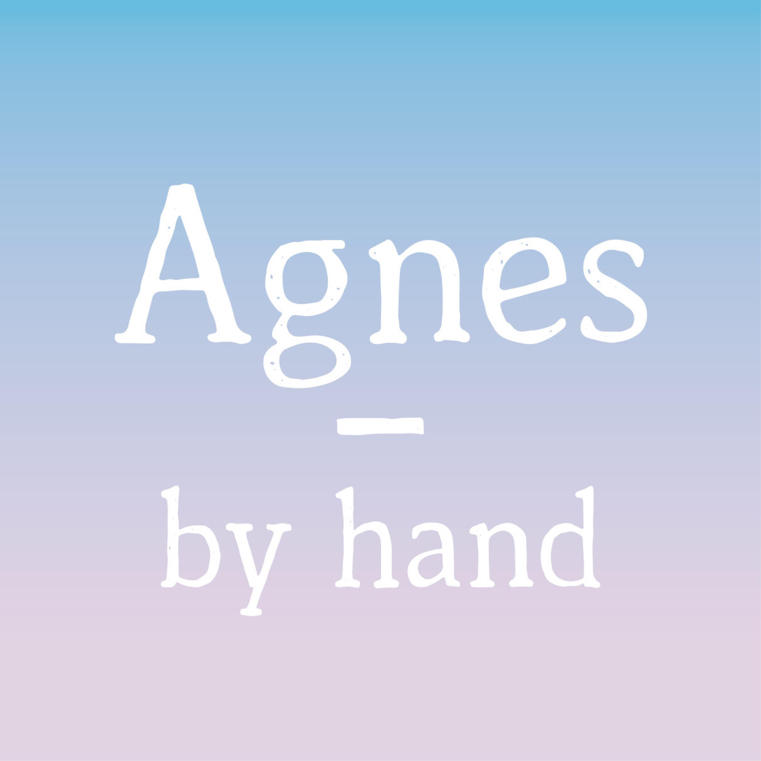 Thumbnail der Schrift Agnes by hand