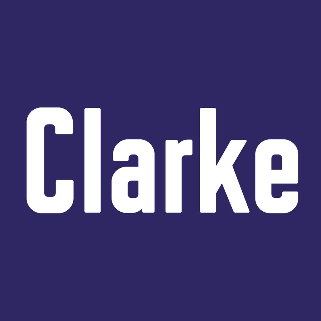 Präsentation der Schrift Clarke: Thumbnail