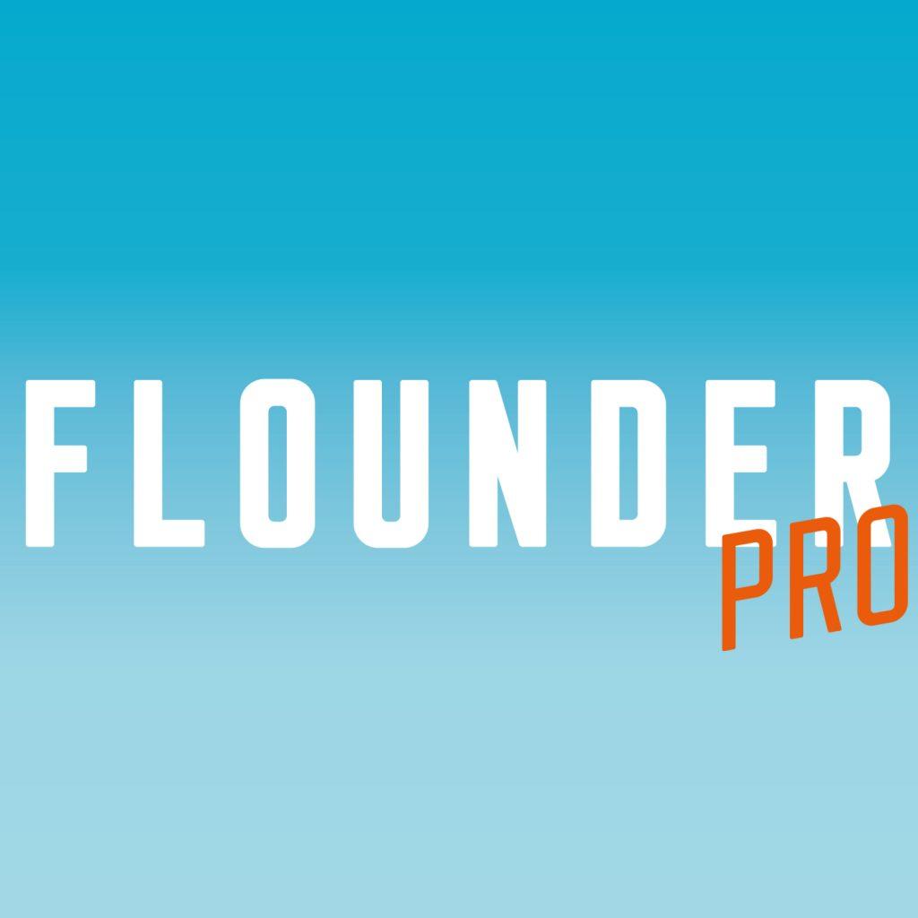 Präsentation der Schrift Flounder Pro: Thumbnail
