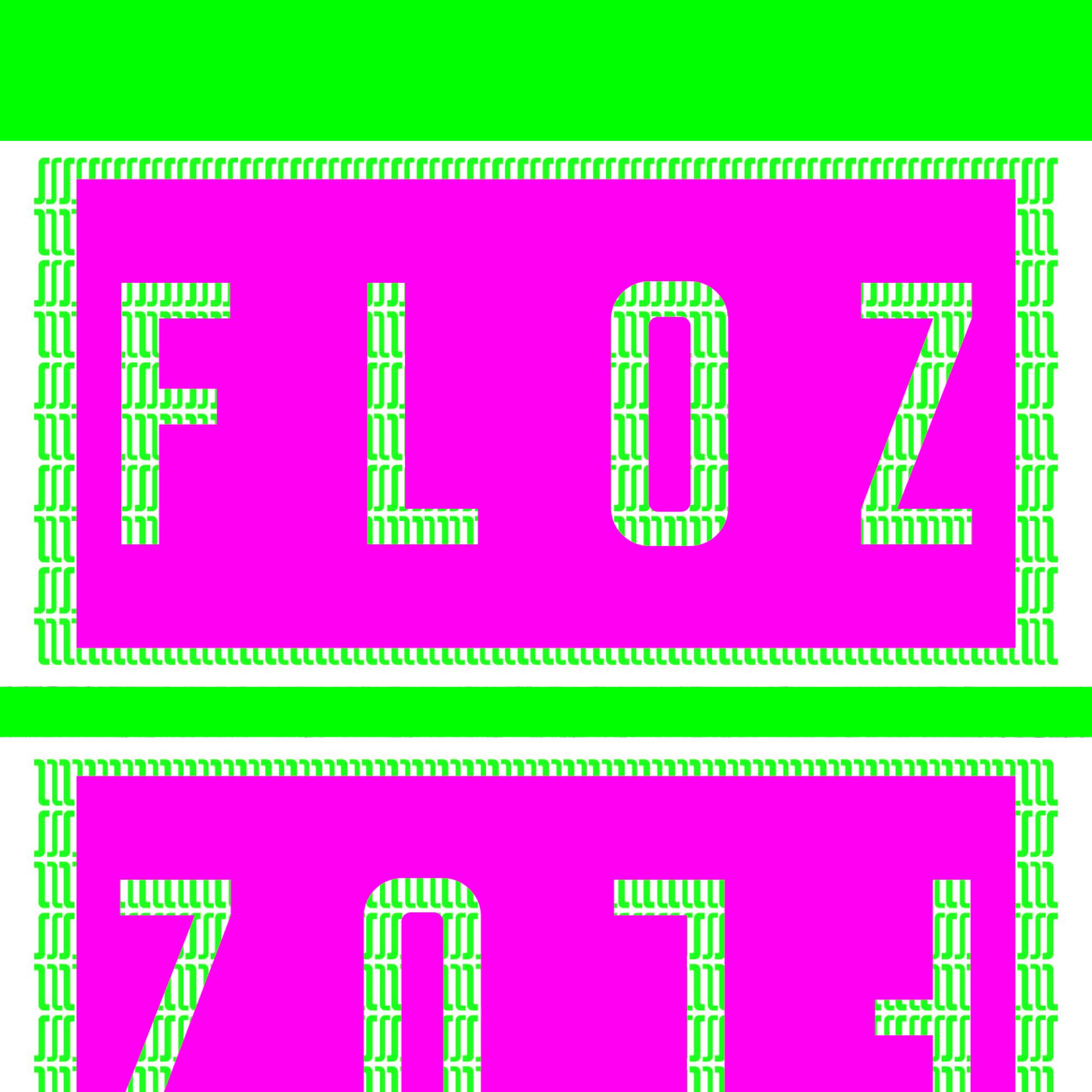 Präsentation der Schrift Floz: Thumbnail