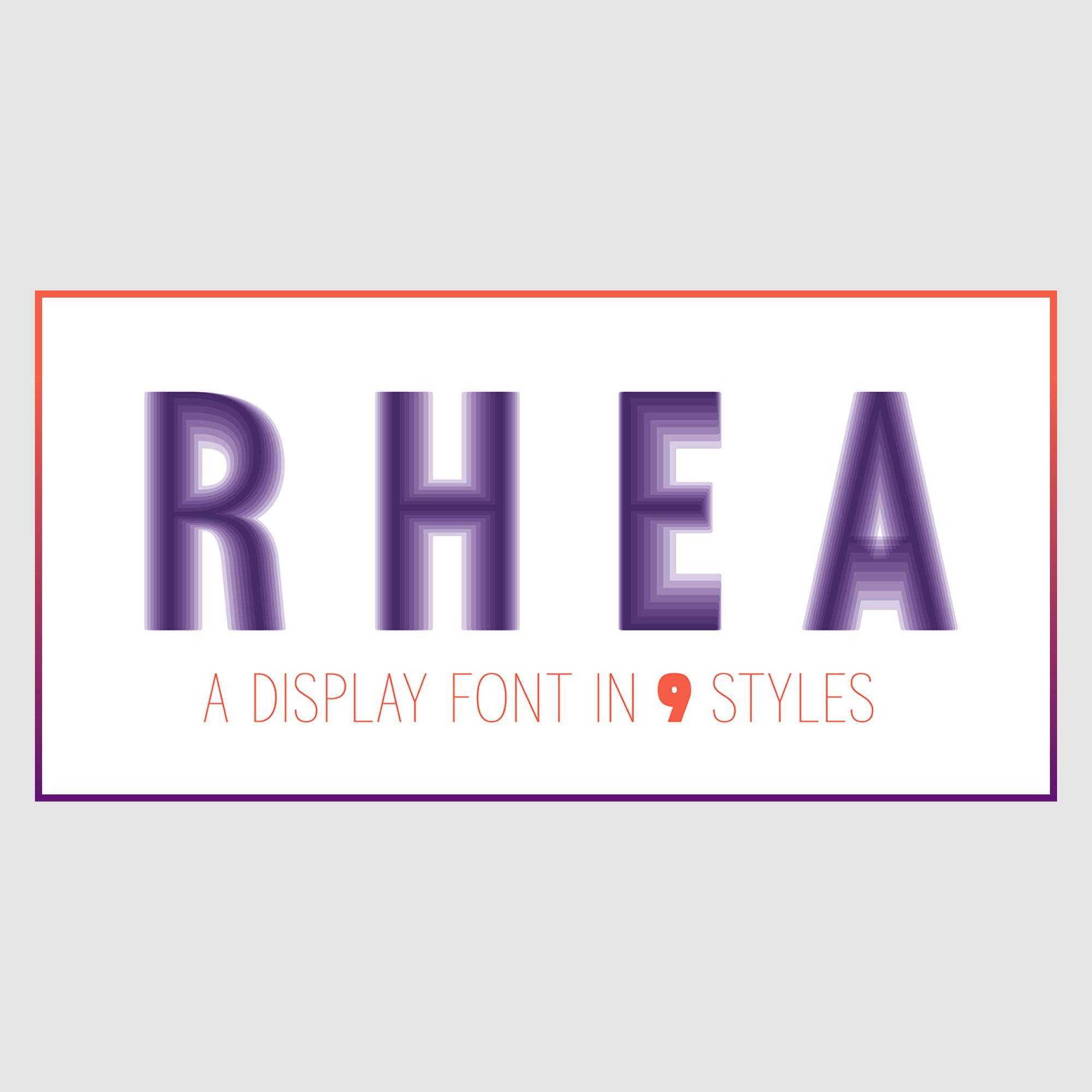 Präsentation der Schrift Rhea: Thumbnail