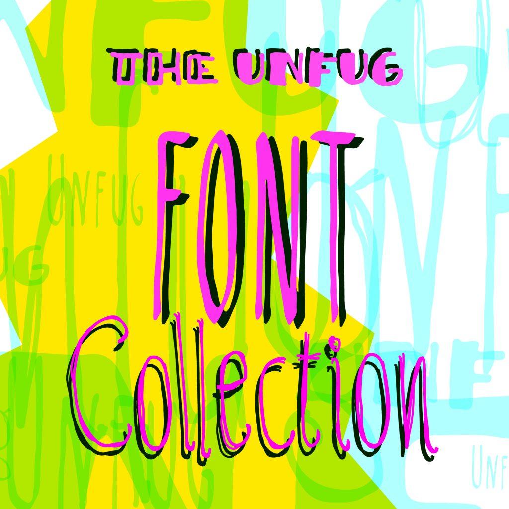 Präsentation der Schrift Unfug - Collection: Thumbnail