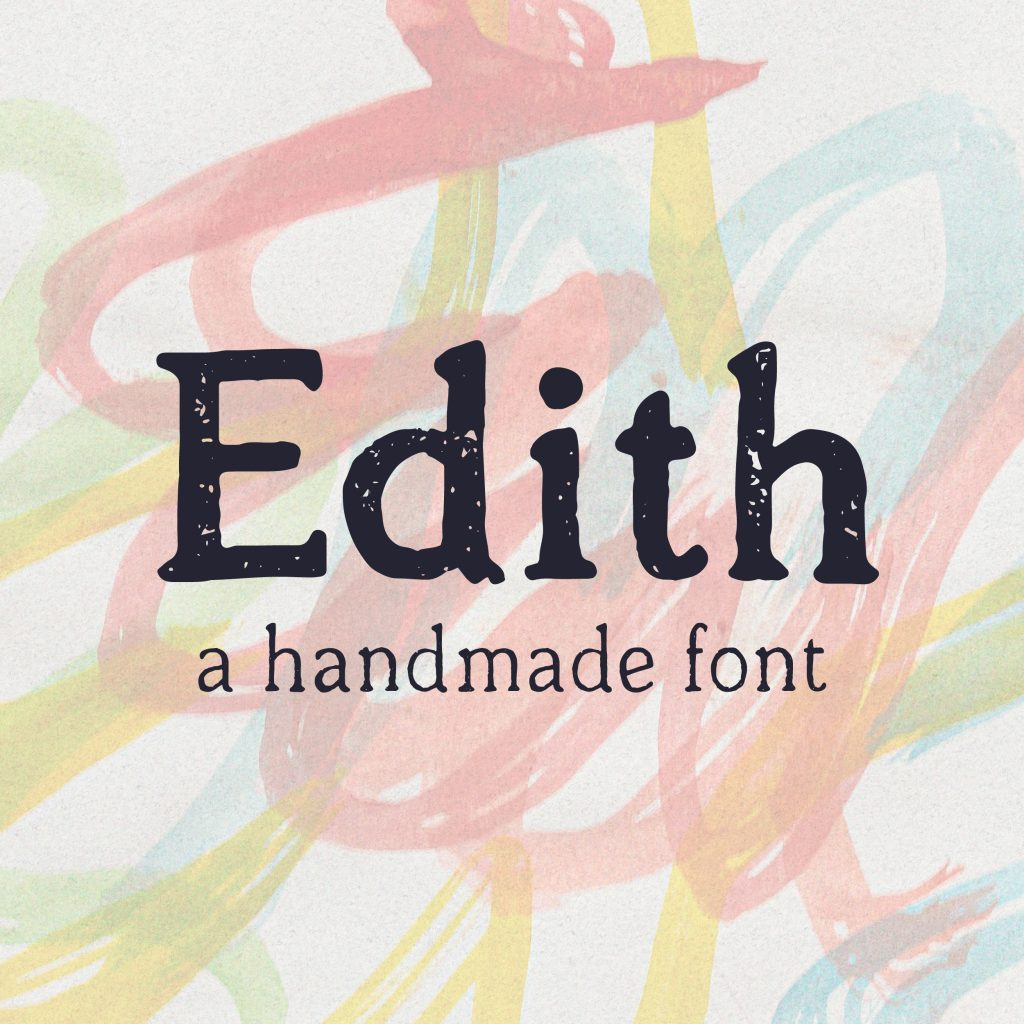 Thumbnail zu der von zumegon gestalteten Schrift Edith